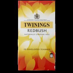 Twinings Redbush Tea 4 boxes, 20 Envelope tea bags per box