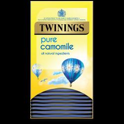Twinings Pure Camomile 4 boxes, 20 Envelope tea bags per box