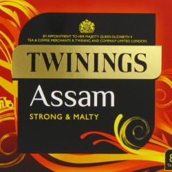 Twinings Assam Tea 4 boxes, 80 tea bags(not enveloped) per box