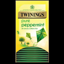 Twinings Pure Peppermint Tea 4 boxes, 20 Envelope tea bags per box