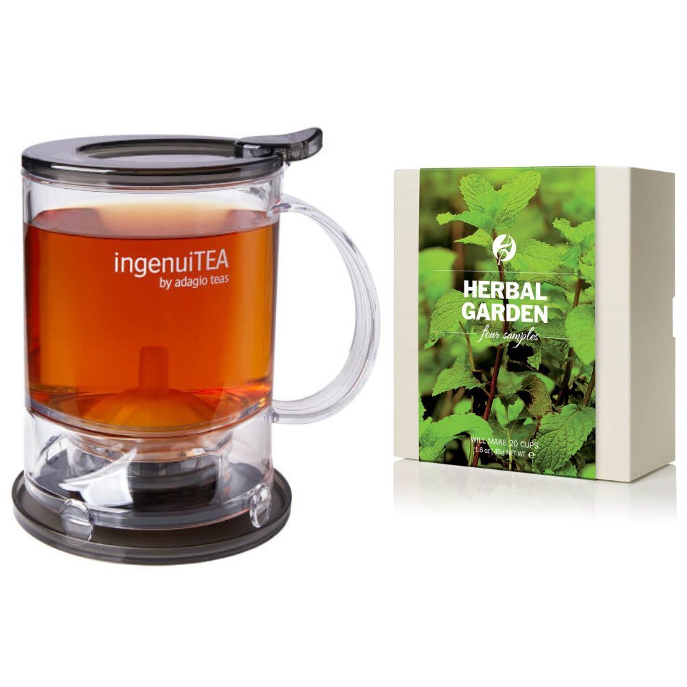 Ingenuitea 2 with Herbal Tea Sampler