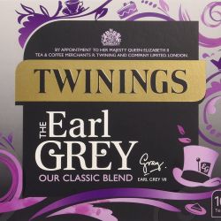 Twinings Earl Grey Tea 4 boxes, 100 Non Envelope tea bags per box